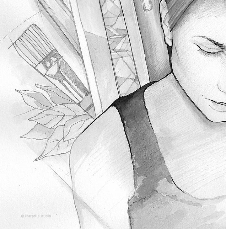 marselle-portrait-sketch