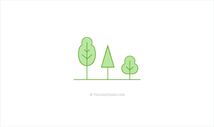 marsellestudio-vector-tree